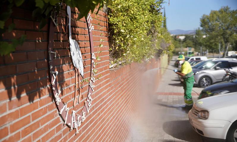 Un plan especial de limpieza y desinfección contribuirá a mejorar la seguridad de los centros escolares de Las Rozas