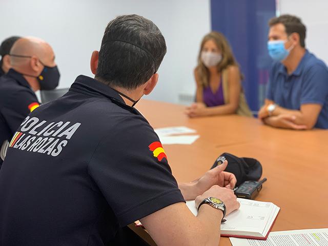 Las Rozas ha impuesto más de 280 denuncias por no llevar la mascarilla