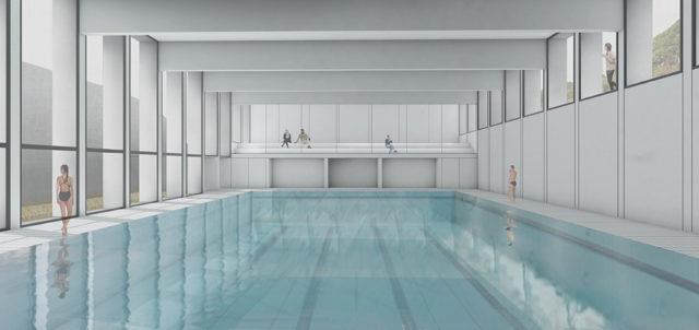 El polideportivo de Entremontes tendrá una nueva piscina y ampliará sus instalaciones