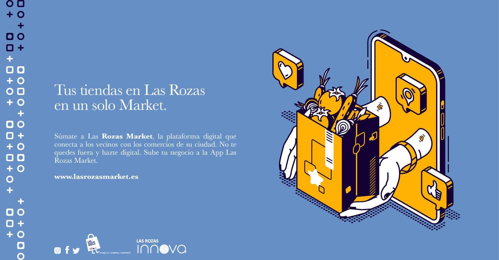 Las Rozas Market y el programa de Sherpas Digitales