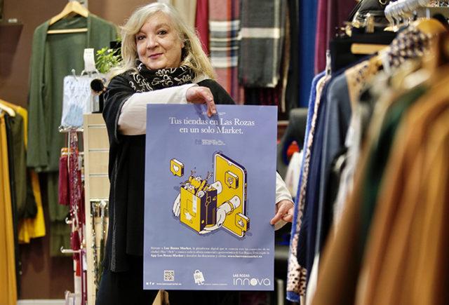 Las Rozas Innova regala bonos de 10 euros para reactivar el comercio roceño y premiar la confianza de sus clientes