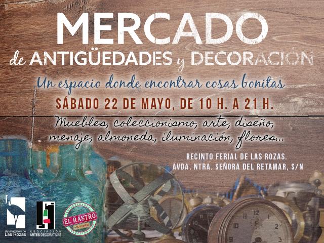 El Recinto Ferial acoge el Mercado de Antigüedades y Decoración